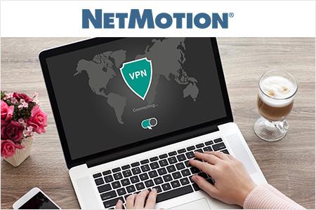 リモートワークでも快適にVPNを利用できる「NetMotion Core+」